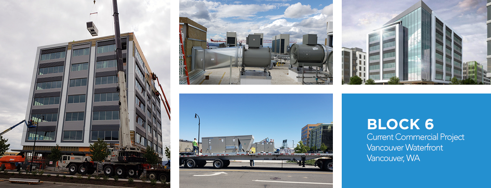 Vancouver Wa Commercial HVAC Project
