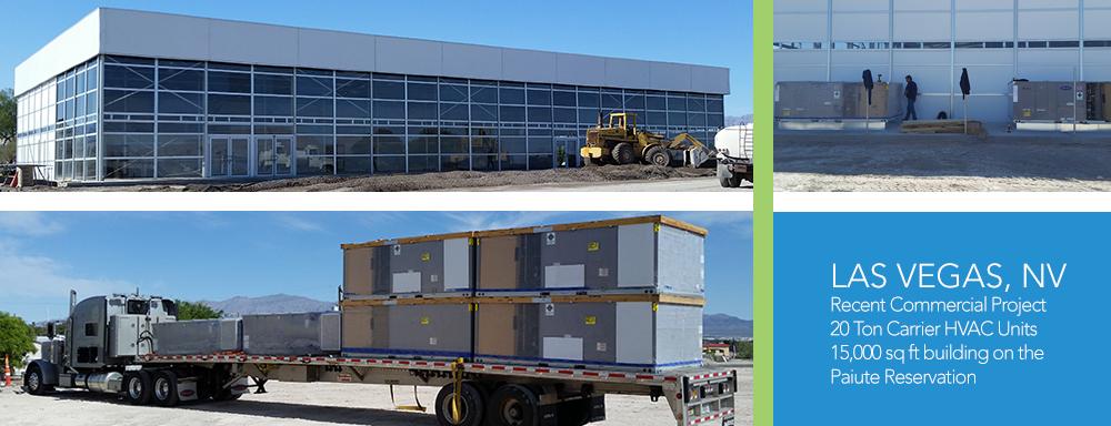 Las Vegas Commercial HVAC Project