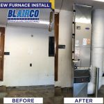 blairco heating furnace install