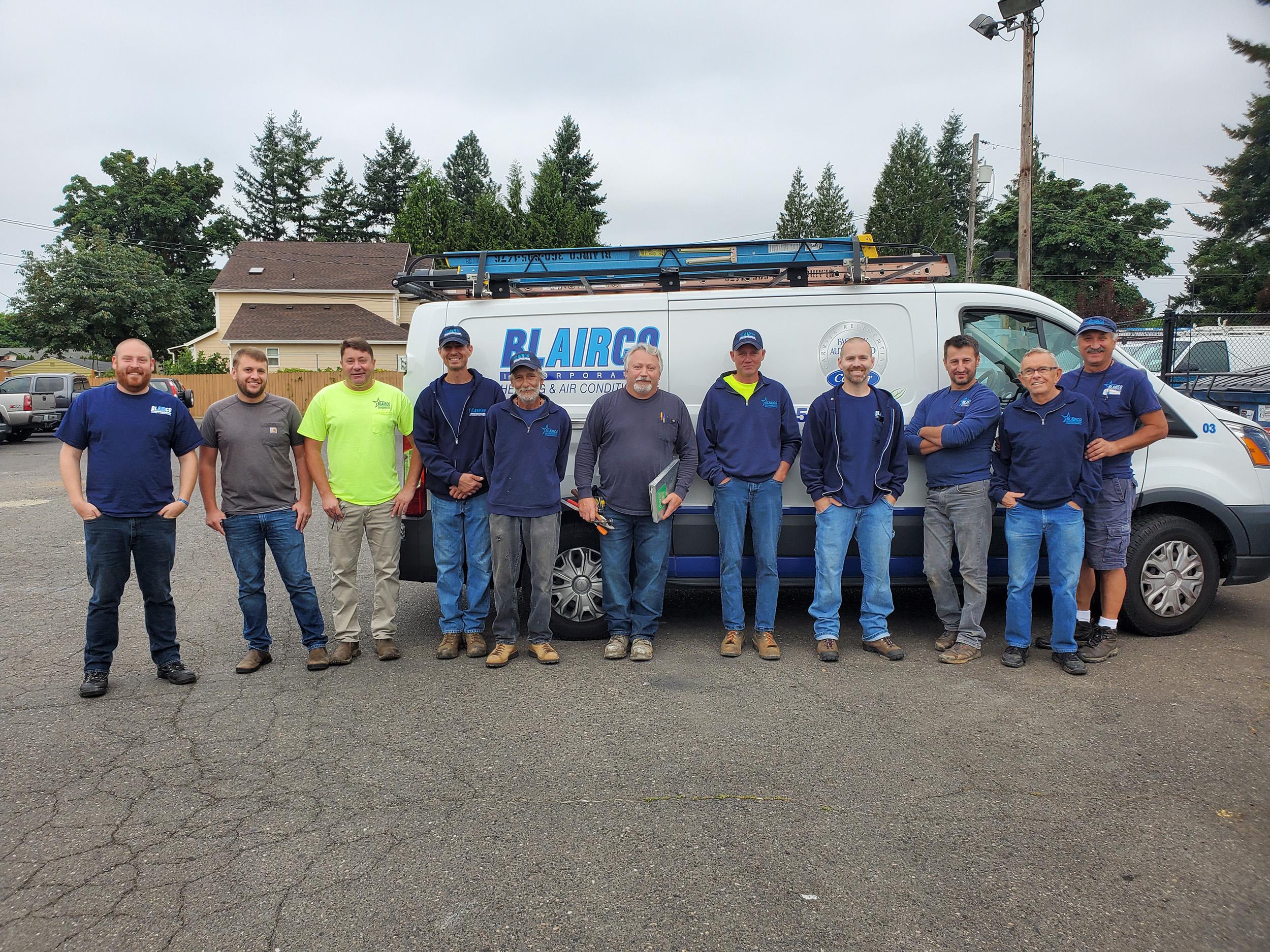 Blairco Commercial HVAC Team