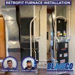 Retrofit Furnace Installation