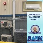 Commercial HVAC Ductless Install