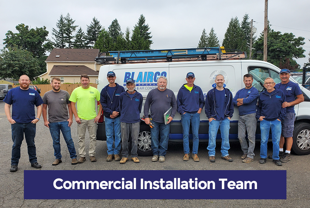 Commercial HVAC Installation Team