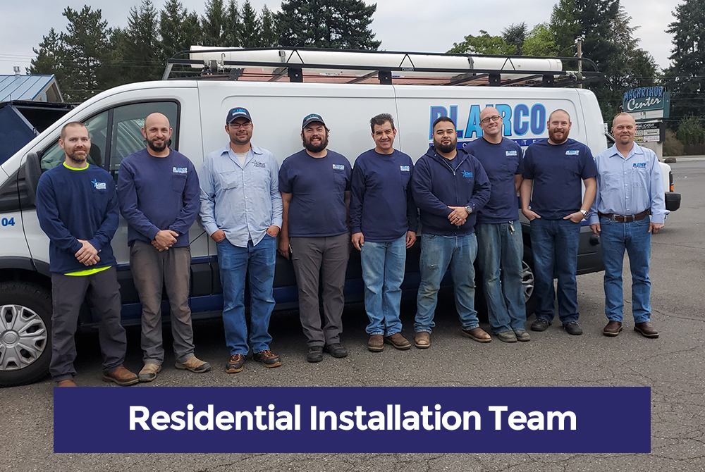 Residential HVAC Installation Team