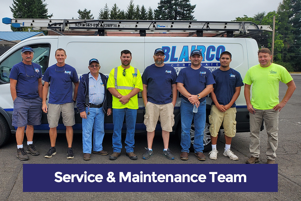 HVAC Service & Maintenance Team